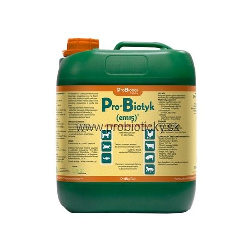 ProBiotyk - probiotiká pre zvieratá 5L - AKCIA
