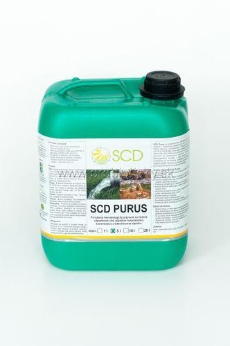 SCD Purus - živé baktérie do žumpy a ČOV