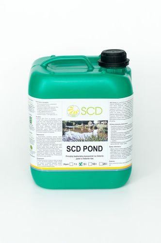 SCD Pond - prípravok proti riasam v jazierku