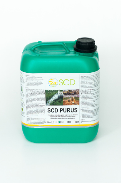 SCD Purus - baktérie do žumpy a ČOV